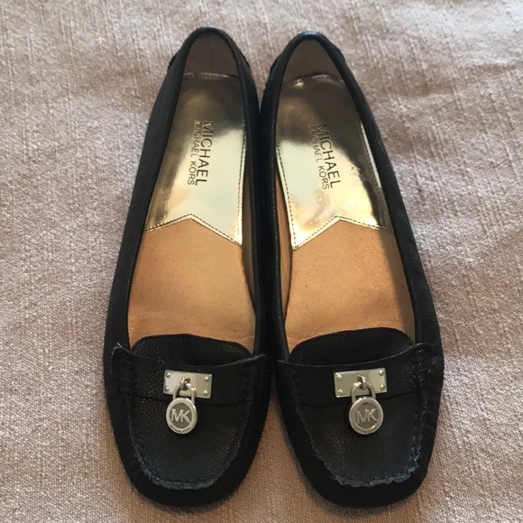 Michael Kors Hamilton Black Leather